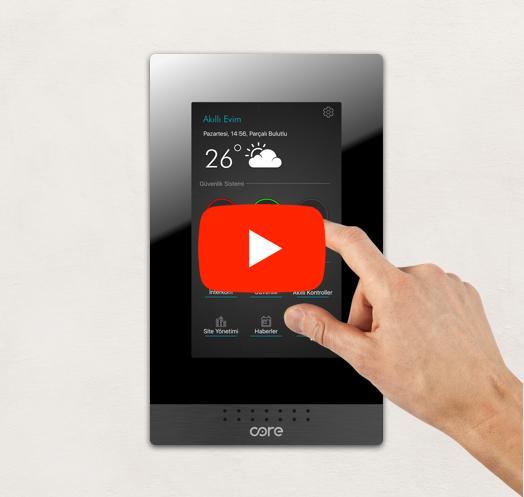 CorePrime Akıllı İnterkom Ekranı